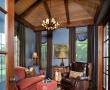 Master Suite: Vaulted wood ceiling.